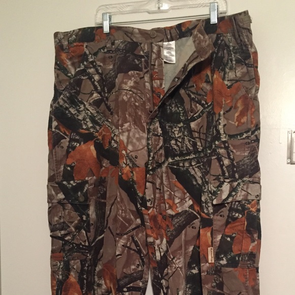 Men's 44/46 Hunting pants camouflage camo 3D 2XL